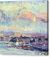 View Of Paris Canvas Print