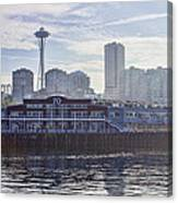 View Of Pier 70 Canvas Print