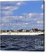 View Of Point Lookout Canvas Print