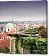 View Of Prague Canvas Print