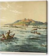 View Of Puynipet (bonibai) Canvas Print