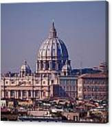 View Of Rome 2013 Canvas Print