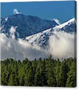 View Of San Juan Mountains With Clouds Canvas Print