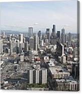 View Of Seattle Canvas Print