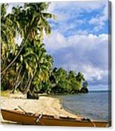 View Of Tahiti Canvas Print