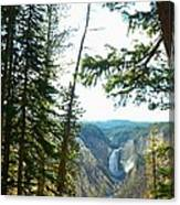 View Of The Canyon Canvas Print