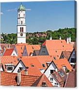 View Of The Old Town With St. Martins Canvas Print