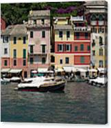 View Of The Portofino, Liguria, Italy Canvas Print
