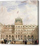 View Of The Quadrangle Of The New Canvas Print