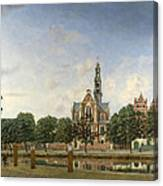 View Of The Westerkerk Amsterdam Canvas Print