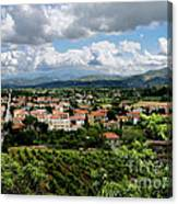View Of Tuscany Canvas Print