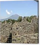 View Of Vesuvius Canvas Print