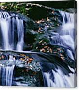 View Of Waterfall, Inversnaid Falls Canvas Print