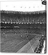 View Of Yankee Stadium Canvas Print