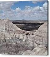 View On The Blue Mesa Trail Canvas Print