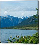 View One Kluane Lake From Cottonwood Campground Near Destruction Bay-yk   Canvas Print