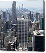 View Over Manhattan I Canvas Print
