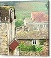 View Over Saint Emilion France 1 Canvas Print