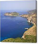 View Over To Assos Canvas Print