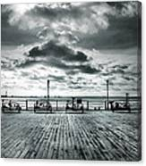 View Point On The Pier Canvas Print