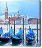 View To San Giorgio Maggiore Canvas Print