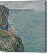 View To The Sea From The Cliffs Canvas Print