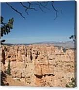 Viewpoint At Bryce Canyon  Canvas Print