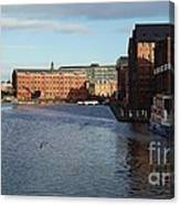 Views From Historic Gloucester Docks 2 Canvas Print