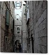 Views From Split Croatia Canvas Print