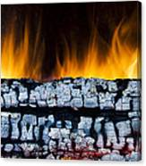 Views From The Fireplace Canvas Print