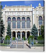 Vigado Concert Hall In Budapest Canvas Print