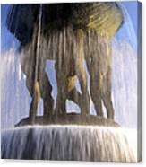 Vigelands Fountain 3 Canvas Print