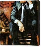 Viggo Posed In A Chair Canvas Print