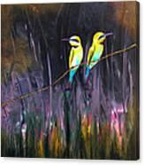 Vigilando Canvas Print