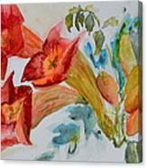 Vigne Provincial Canvas Print