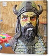 Viking 04 - Little Smile - Animation Project Canvas Print