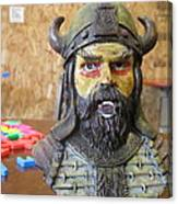 Viking 06 - Little Mouth - Animation Project Canvas Print