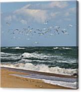 Vilano Beach Canvas Print
