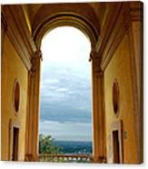 Villa Deste Tivoli Italy Canvas Print
