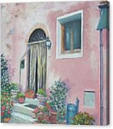 Villa In Il Borro Tuscany Canvas Print