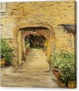 Villa In Italy Canvas Print