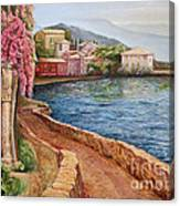 Villa Verenna Canvas Print