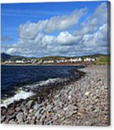 Village By The Sea - County Kerry - Ireland Canvas Print