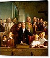 Village Choir Canvas Print