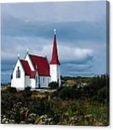 Village Church Canvas Print