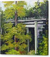 Village Creek Bridge Canvas Print