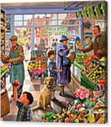 Village Greengrocer  Canvas Print