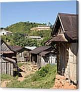 village in Madagascar Canvas Print