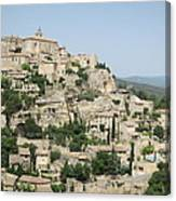 Village Of Gordes Canvas Print