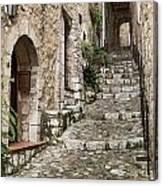 Village Of Saint Paul De Vance Canvas Print
